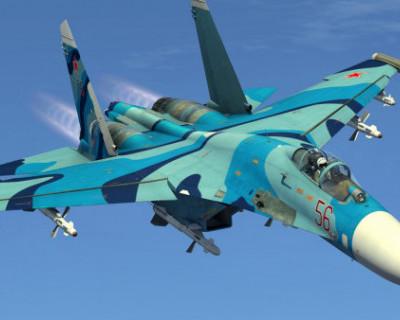 Су-27 перехватил американский самолет-разведчик над Черным морем