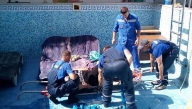 В Крыму женщина получила травму, упав в пустой бассейн (ФОТО)