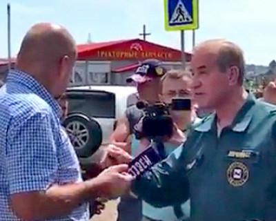 Губернатор Иркутской области сбежал от жителей