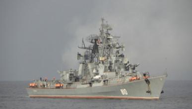 Российский корабль «вмешался» в учения НАТО