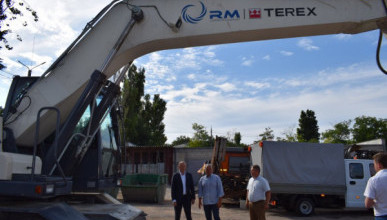 Автопарк Севавтодора пополнился новой техникой