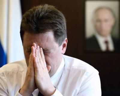 Экс-губернатор Севастополя ушел и из интернета