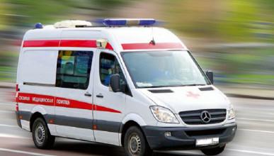В Крыму произошло ДТП с машиной «скорой помощи»