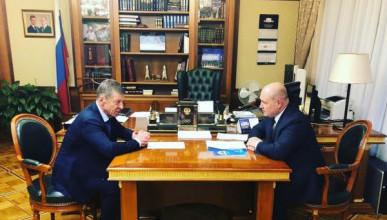 В Москве врио губернатора Севастополя встретился с Дмитрием Козаком