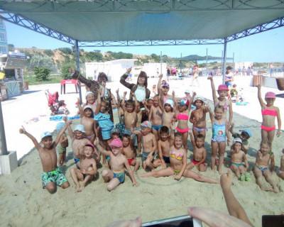 Выходные для детей на пляже «Адмиральская лагуна»