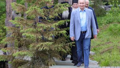 Сколько стоят кроссовки, в которых Путин приезжал в Валаам?