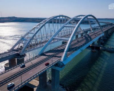 Более 1 млн. машин проехали по Крымскому мосту с начала лета