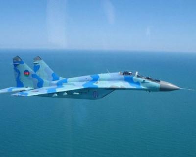 Истребитель-перехватчик  МиГ-29 рухнул в Каспийское море
