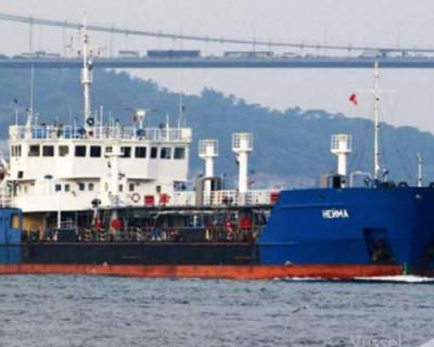 СБУ задержала российский танкер за «участие в Керченском конфликте» (ФОТО)