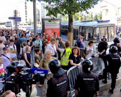 69% россиян одобряет разгон незаконной акции протеста в Москве