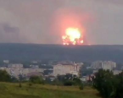 Стало известно о первой жертве взрыва на артиллерийском складе в Красноярском крае