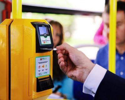 В Севастополе в маршрутках можно оплатить проезд банковской картой
