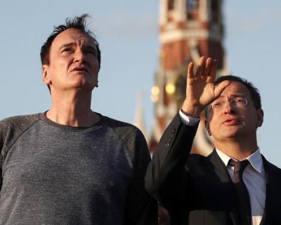 Российский министр культуры провел экскурсию по Кремлю для Квентина Тарантино