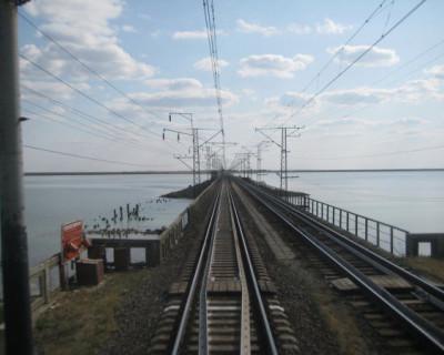 Крымчане разобрали железнодорожные пути у границы с Украиной