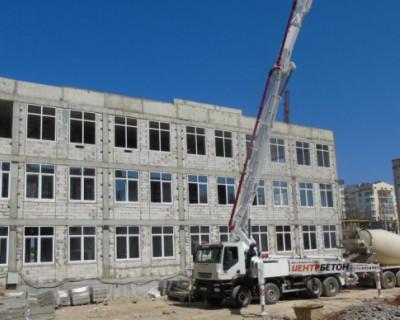 Строительство новой школы в Севастополе будет завершено в срок
