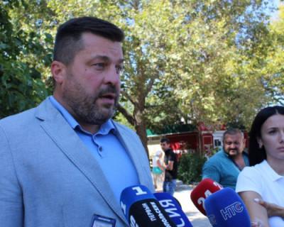 Вадим Кирпичников в Севастополе работает с усиленными нарядами полиции