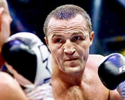 Чемпион мира по боксу поздравил Сергея Кота с днём рождения