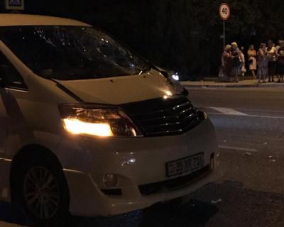 В Севастополе на пешеходном переходе сбили молодого парня (ВИДЕО)