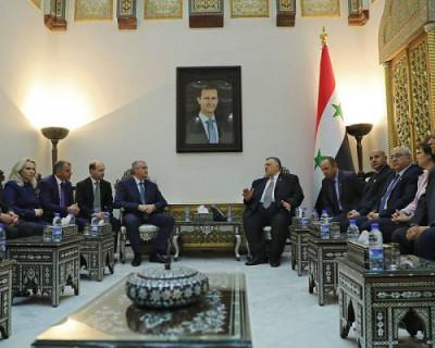 В конце августа Крым и Сирия подпишут договор о сотрудничестве