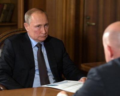 Владимир Путин положительно оценил опыт врио губернатора Севастополя
