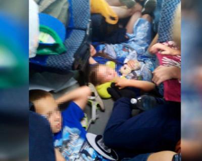 Уральских детей, которые ездили в крымский детский лагерь, везли обратно в жутких условиях! (ФОТО)