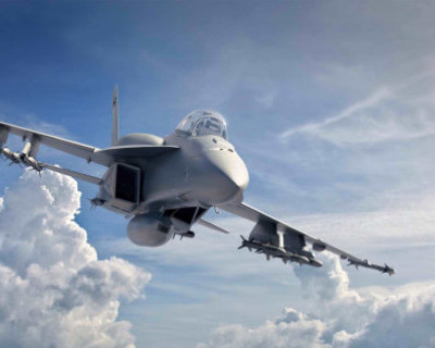 Российский СУ-27 отогнал истребитель НАТО F-18 от самолета Сергея Шойгу (ВИДЕО)