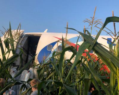 Как взлетал и экстренно садился лайнер, следовавший в Крым из Москвы (ВИДЕО)