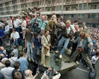 Годовщина путча 1991 года (ФОТО)