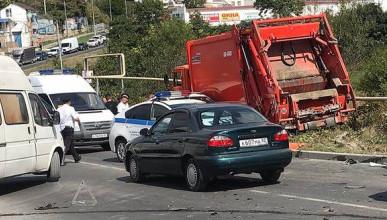 Крупное ДТП в Севастополе