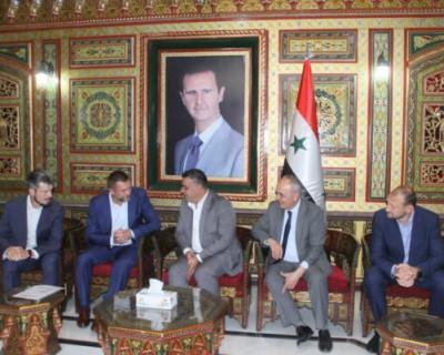 Дмитрий Саблин: «Необходимо начинать конкретную работу по взаимодействию Севастополя и сирийской провинции Тартус»