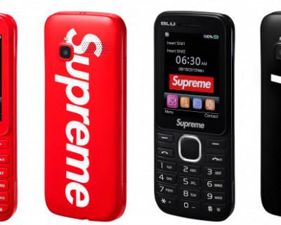 Supreme выпустил кнопочные телефоны за 100 долларов