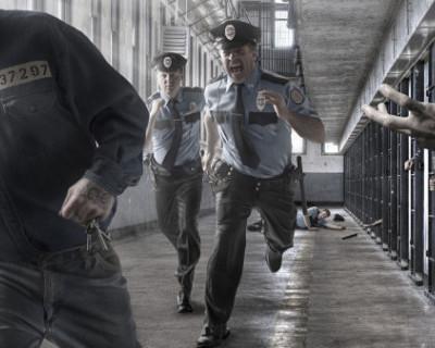 В Севастополе отрепетировали побег заключенных