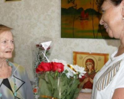 РОО «Мы - севастопольцы» поздравила блокадницу с 90-летием