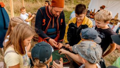 Интерактивные площадки для детей, откроются на  VI Крымском военно-историческом фестивале