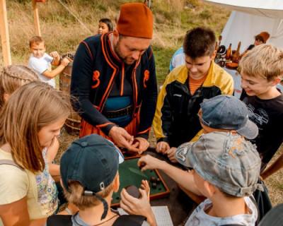 На VI Крымском военно-историческом фестивале откроются площадки для детей