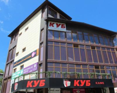 В Симферополе начали снос здания торгового центра «Куб»