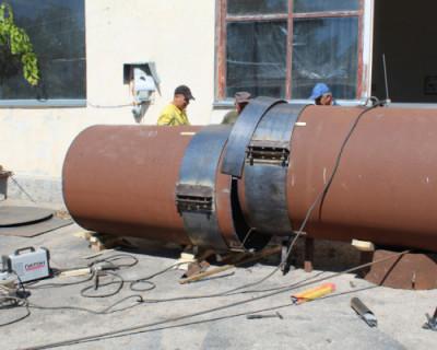 90% работ по ремонту коллектора в севастопольской  Голубой бухте выполнены