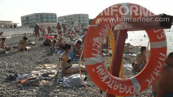 оборудованный пляж в Севастополе