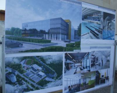 В Севастополе презентовали проект спорткомплекса им. 200-летия