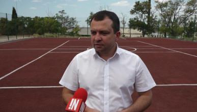 Александр Брыжак пустыри «превращает» в спортплощадки (ФОТО, ВИДЕО)
