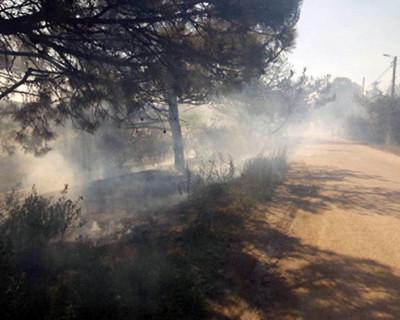 Сотрудники МЧС ликвидировали пожар в Балаклаве