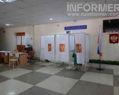 Участок № 122 в Севастополе. Выборы идут спокойно