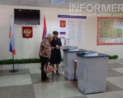 Явка на выборах депутатов Заксобрания Севастополя на 18 часов