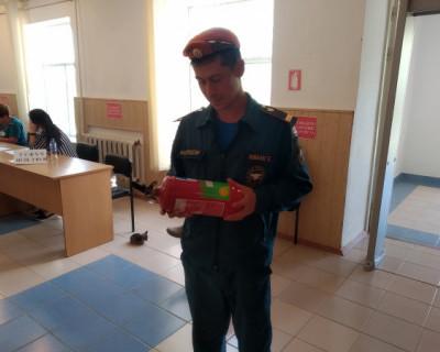 В единый день голосования сотрудники МЧС России обеспечили безопасность на избирательных участках