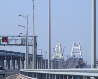 Во время строительства железнодорожного подхода к Крымскому мосту погиб рабочий