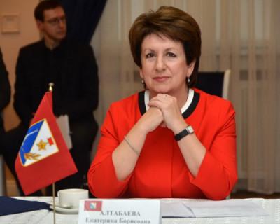 Екатерина Алтабаева уходит в Москву сенатором от Севастополя