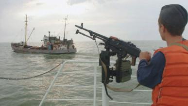 Северокорейский рыбаки напали на российских пограничников
