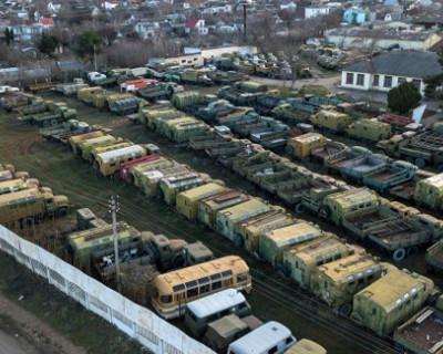Киев отказался от своей военной техники, оставленной в Крыму
