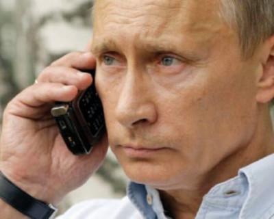 У президента РФ Владимира Путин есть специальный «толстый» мобильный телефон
