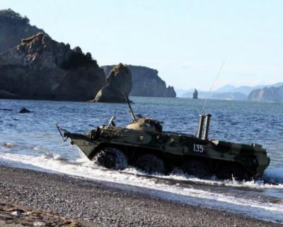 На Камчатке начались военные учения